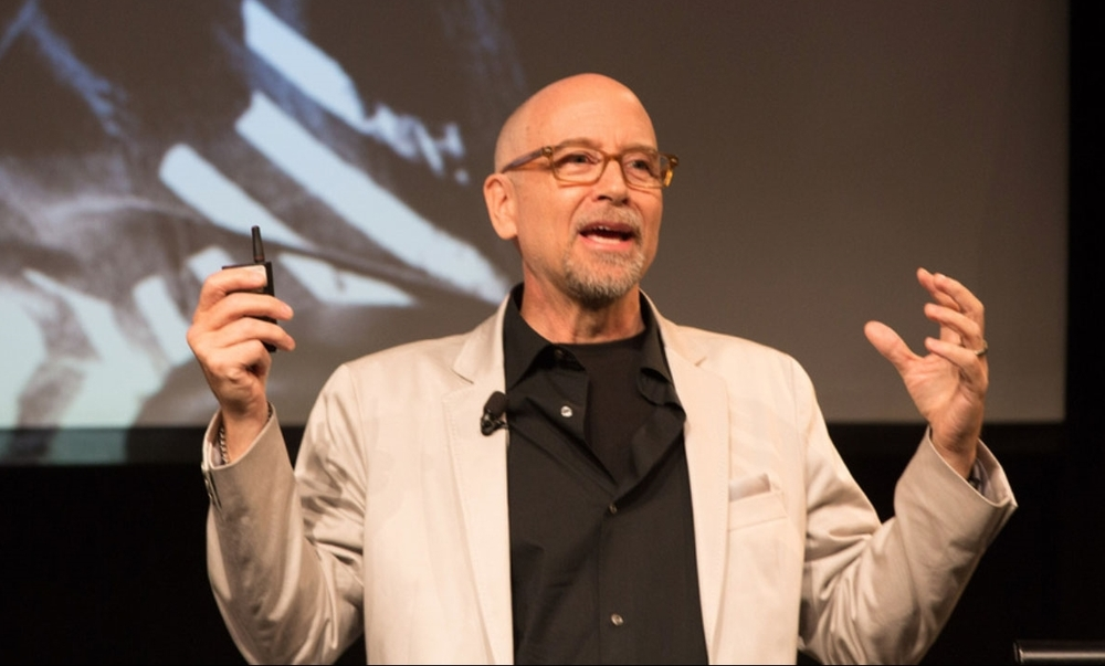 At the opening of the exhibition of Fearless Genius at the Computer History Museum, Mountain View, Ca., July, 2014. Photo ©Douglas Fairbairn Photography.