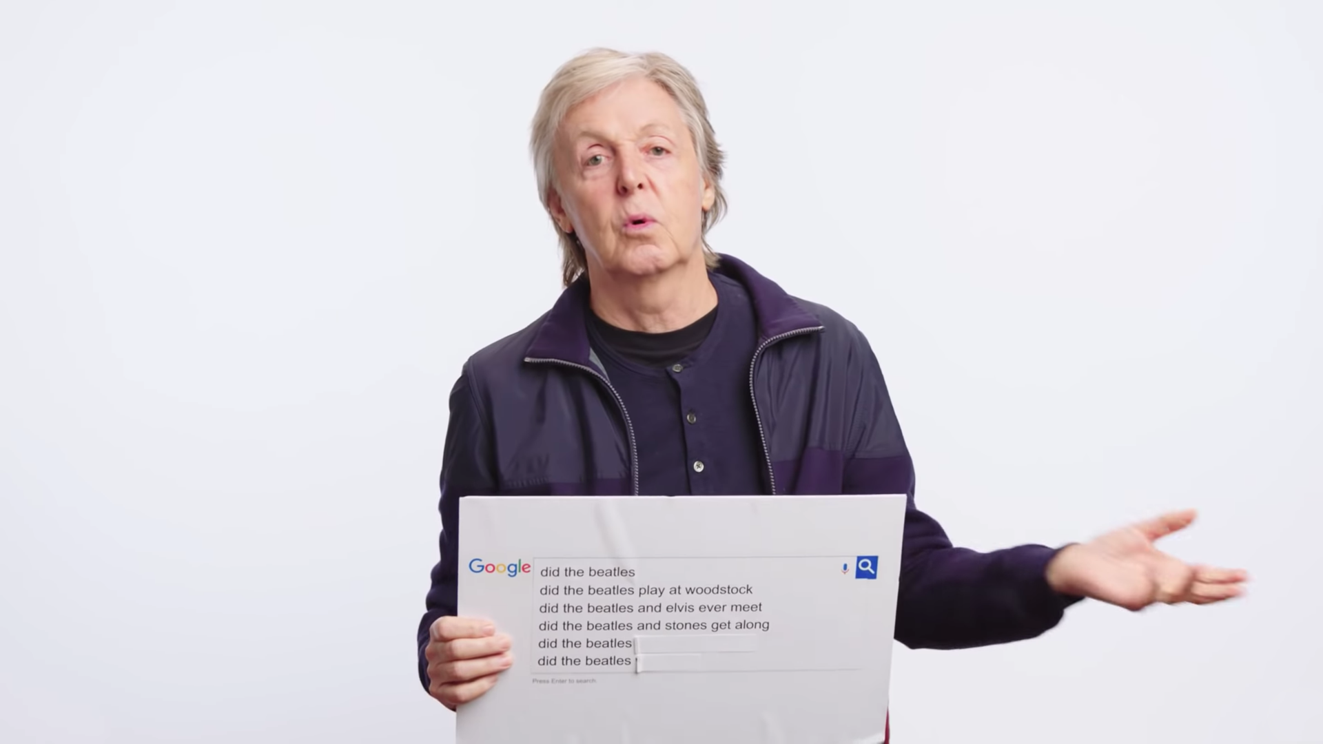 PAUL MCCARTNEY AUTOCOMPLETE