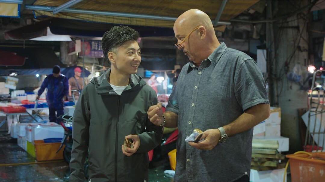 ANDREW ZIMMERN'S JOURNY TO TAIWAN