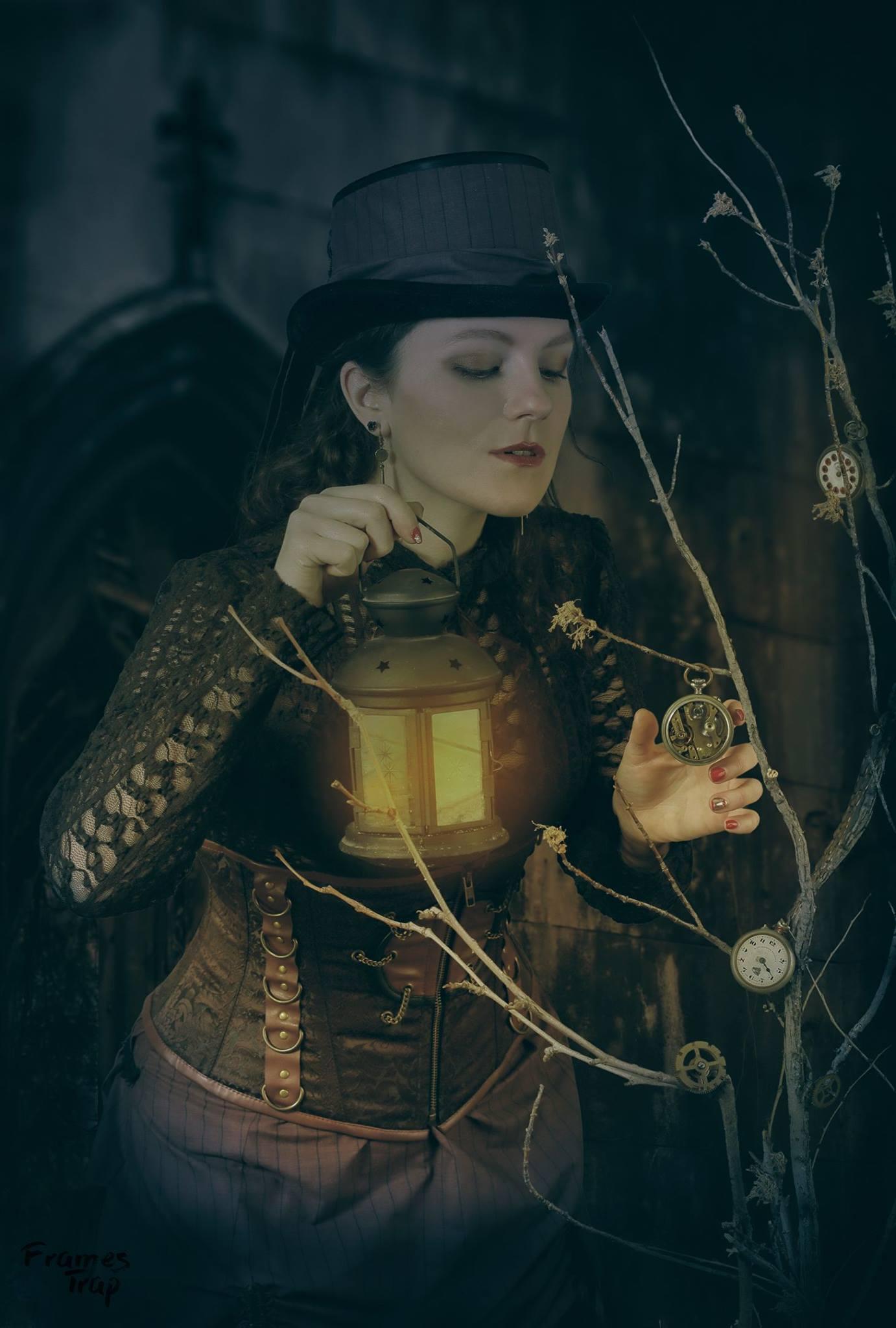 Fotografia  FramesTrap  Modelo Jillian gangrel