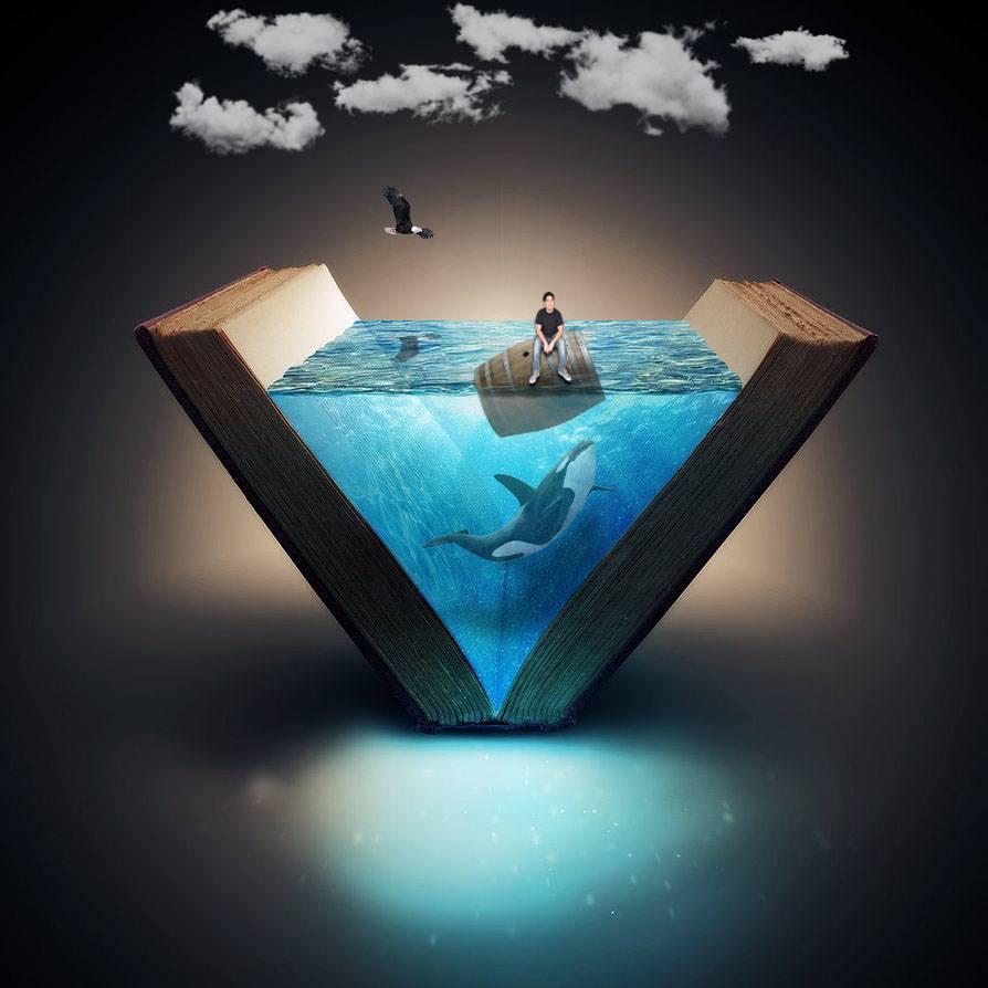 Fernando Gil  nos lleva a su mundo surrealista lleno de historias sobre las profundidades... para seguir soñando
