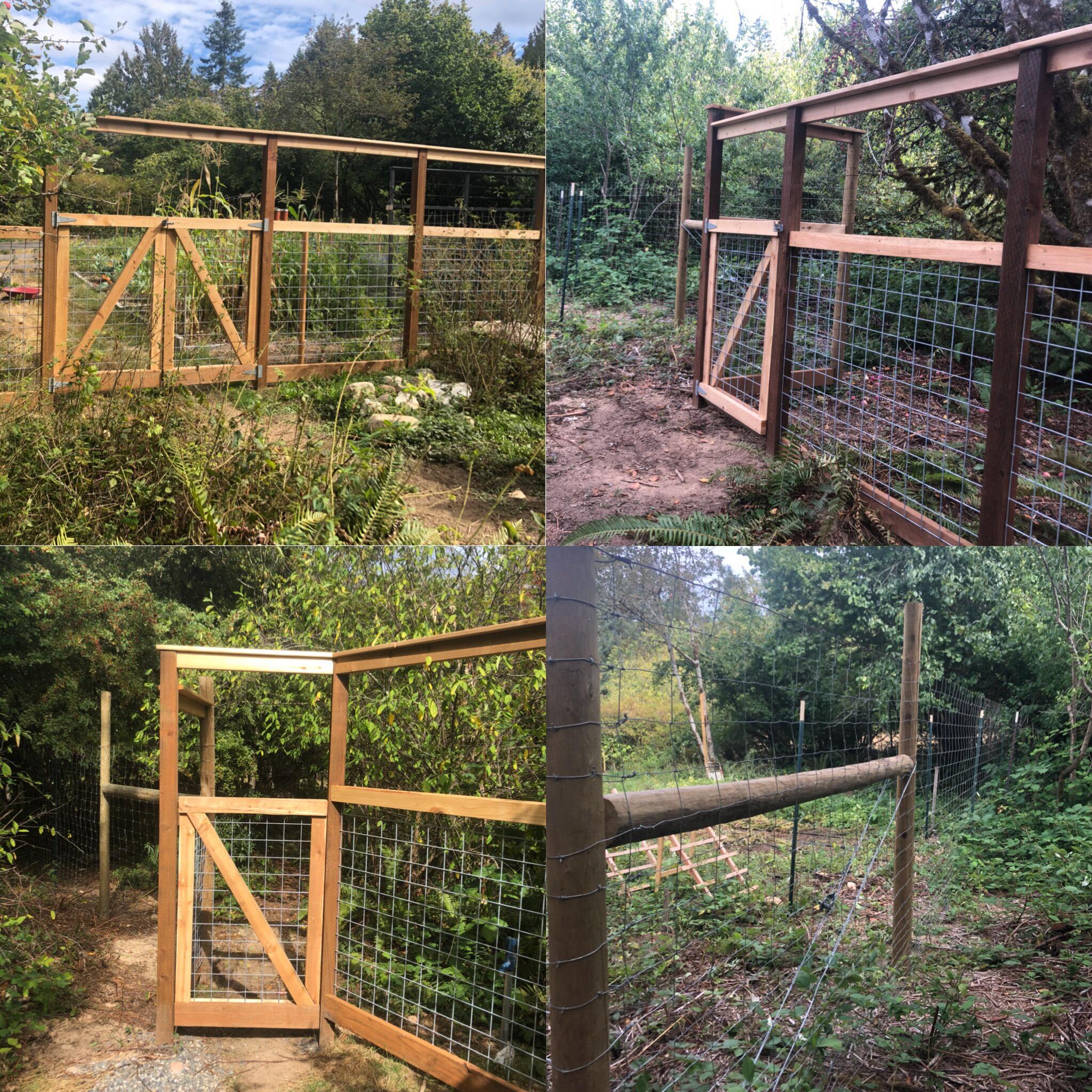Garden And Deer Proof Designs Defining Fence Construction Llc