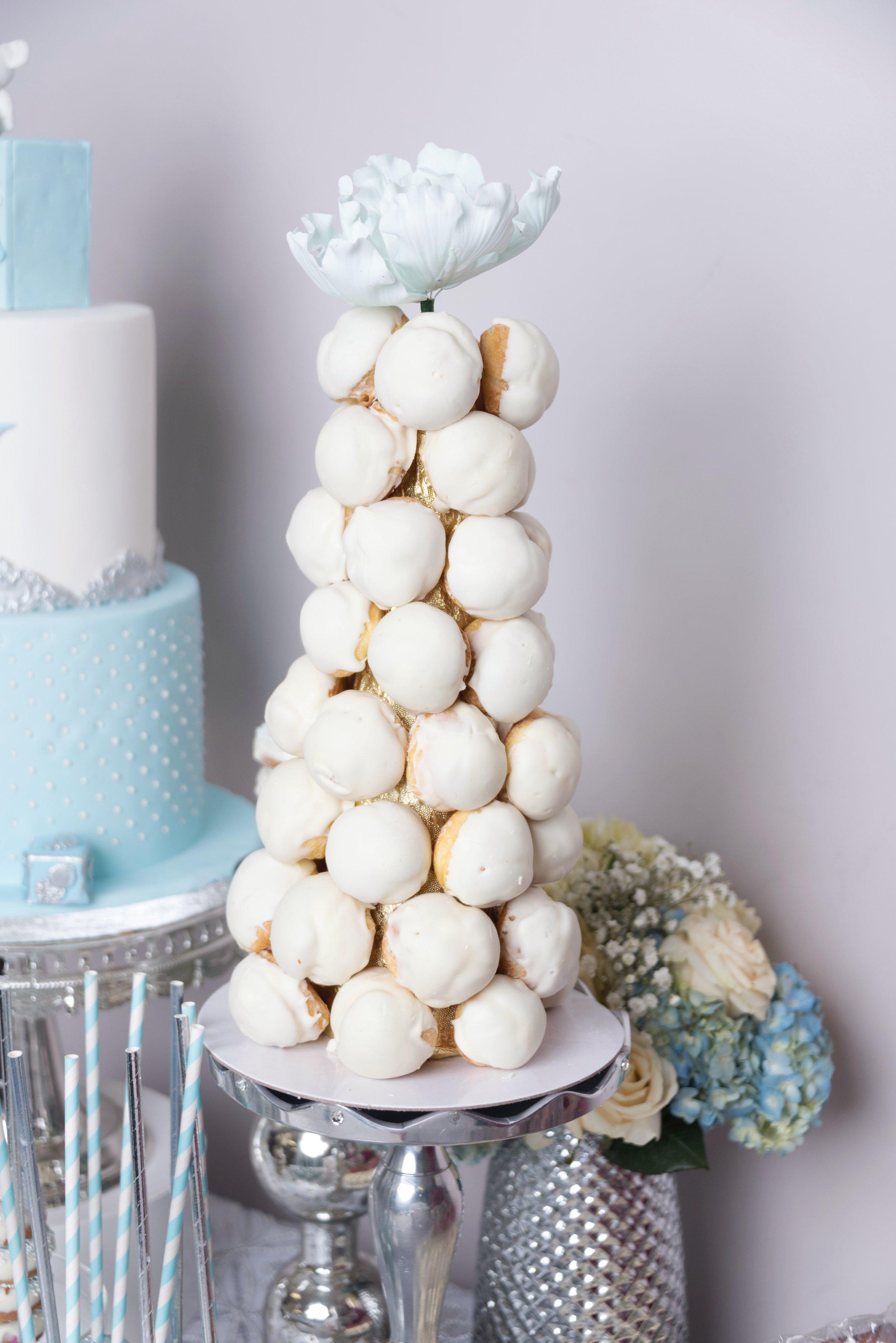 Baby Shower Dessert Table Cream Puffs.jpg