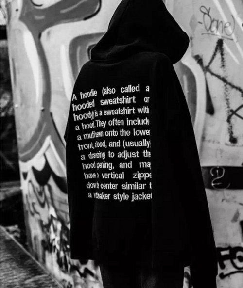 'what is a hoodie?' by vetements. image courtesy of https://cdn.vox-cdn.com