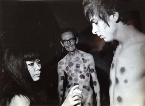Yayoi with Andy Warhol. IMage courtesy of http://www.mapsandfragments.com