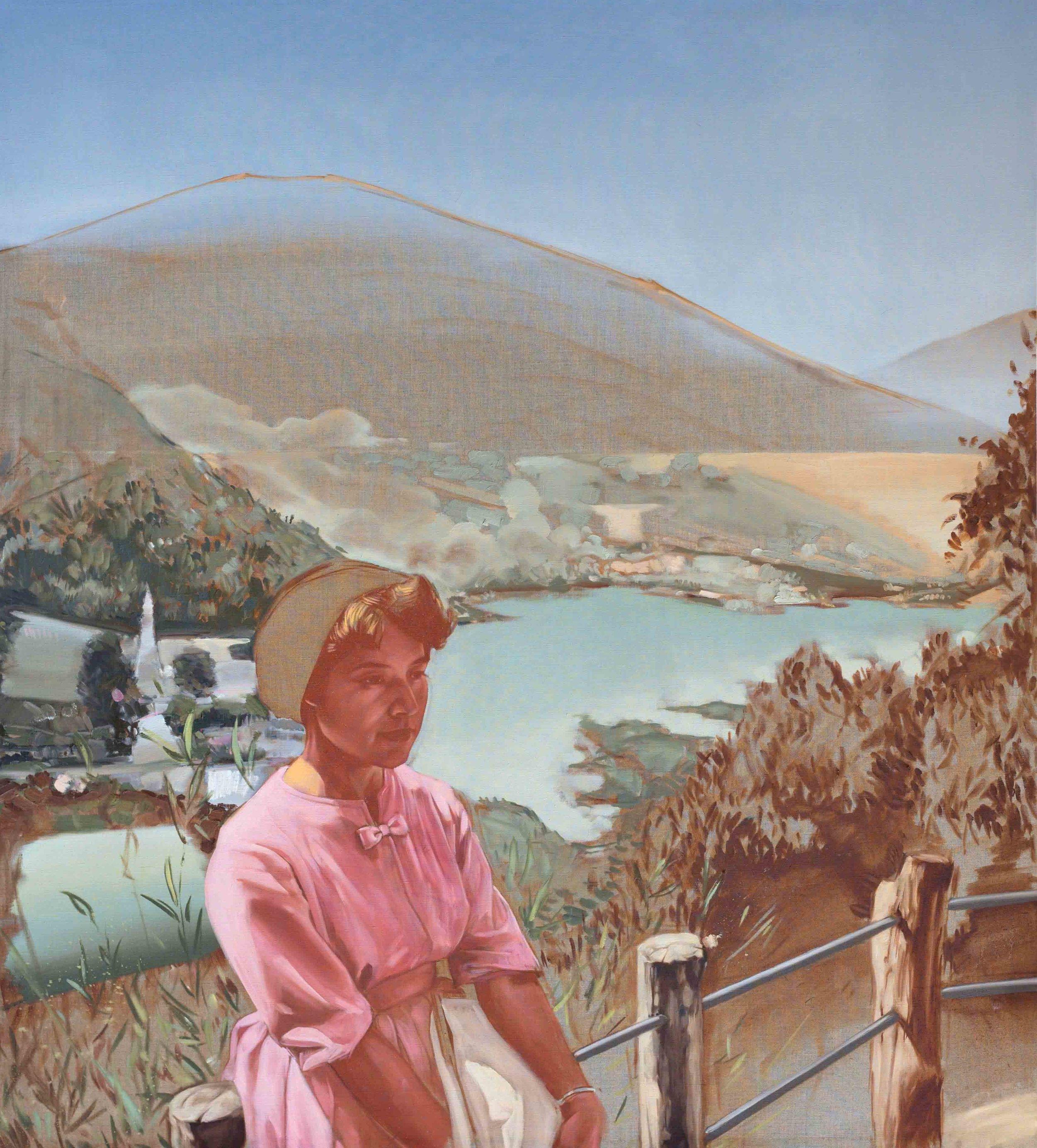 Shane Berkery Girl Landscape