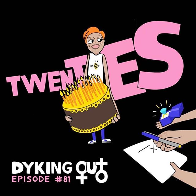 The creator of Twenty, @lilyclaireee  was a guest on the amazing @dykingout podcast this week! Take a listen for a hilarious discussion on navigating life in your twenties! 🏳️‍🌈❤️