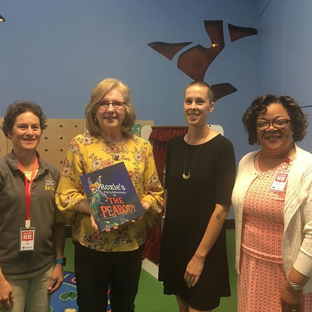 """You never know where you'll find Roxie next! This time, she's @MemphisLibrary! The book, """"Roxie's Fairy Adventure at The Peabody,"""" will be added to the Library's collection this month! Stay tuned for details about this fairy adventure coming to a library near you!"""