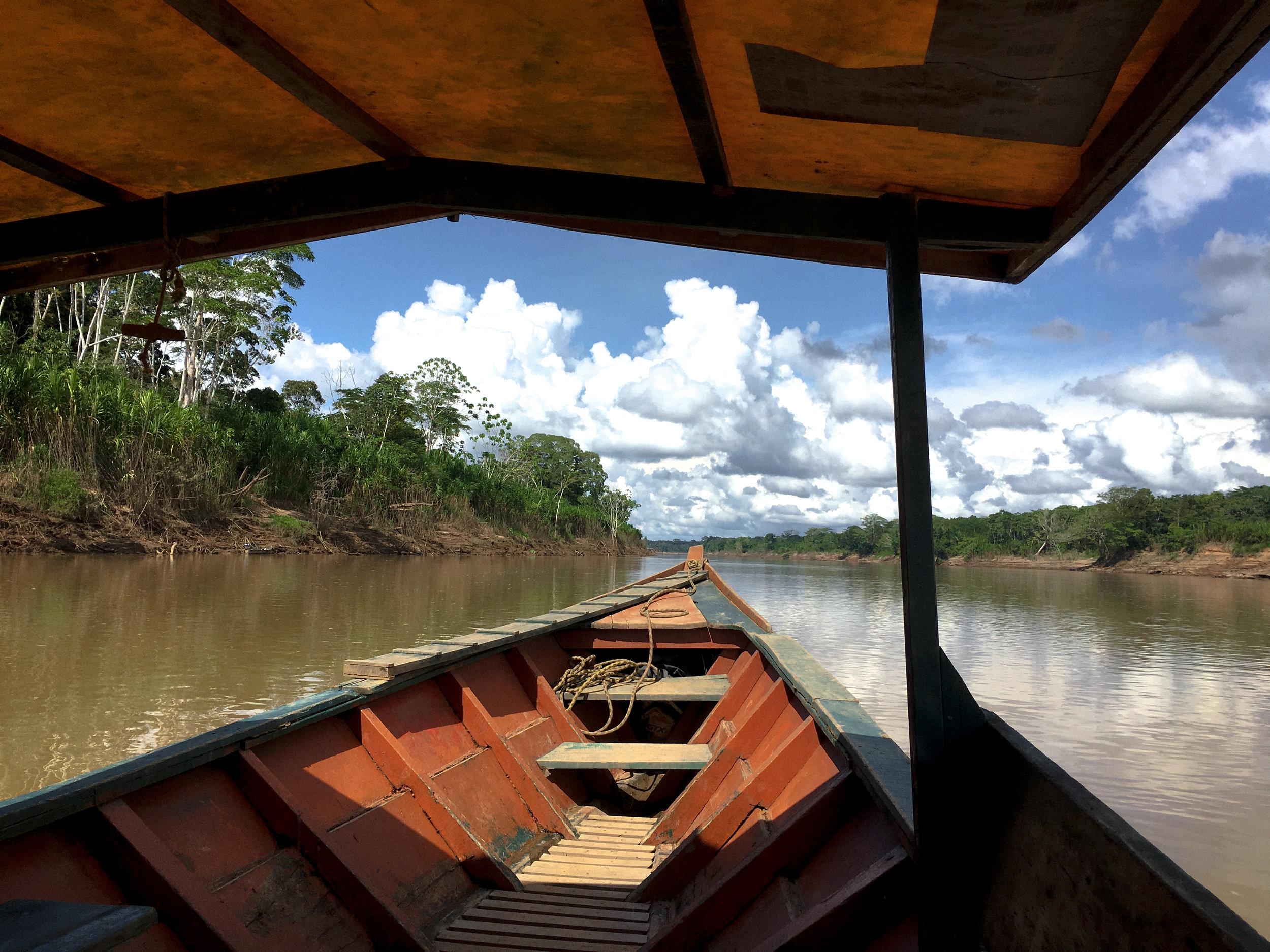The Tambopata River, Peru