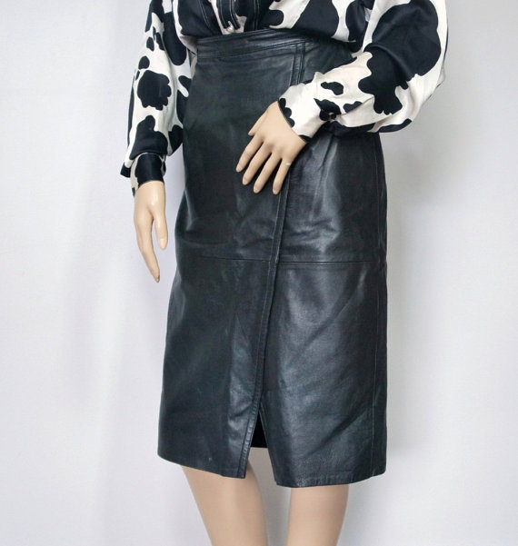 High Waist Vintage Pencil Skirt