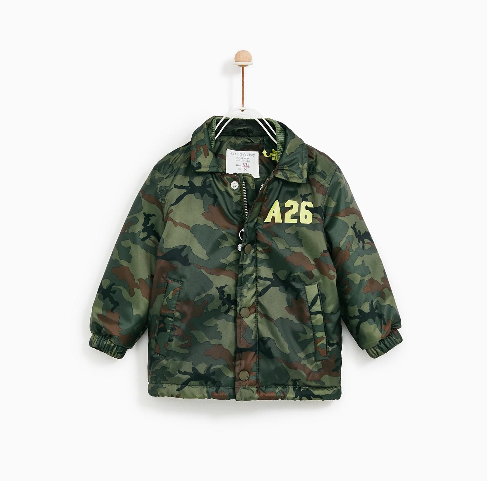 Camoflage Jacket $49.95