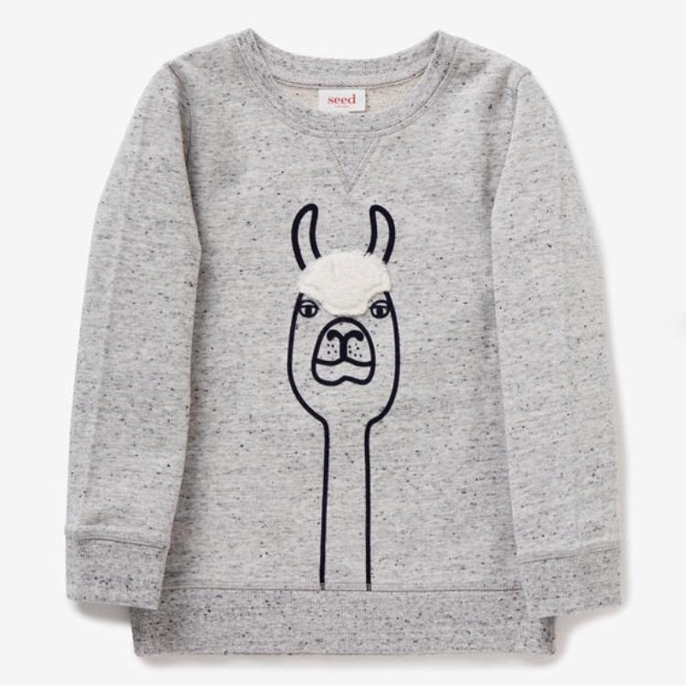 Llama Sweater $39.95