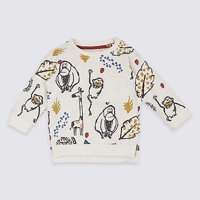 Pure Cotton Sweatshirt $19.00