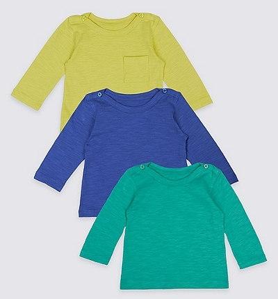 3 Pack Long Sleeve Shirt $25.00