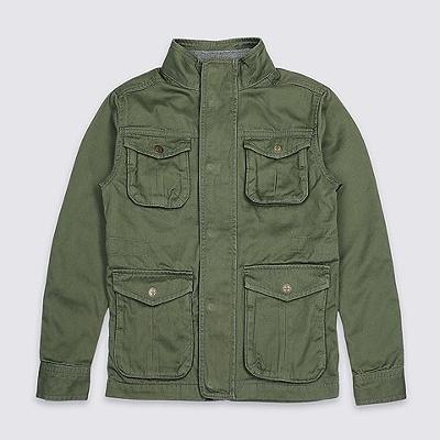 Pure Cotton Jacket $57.00