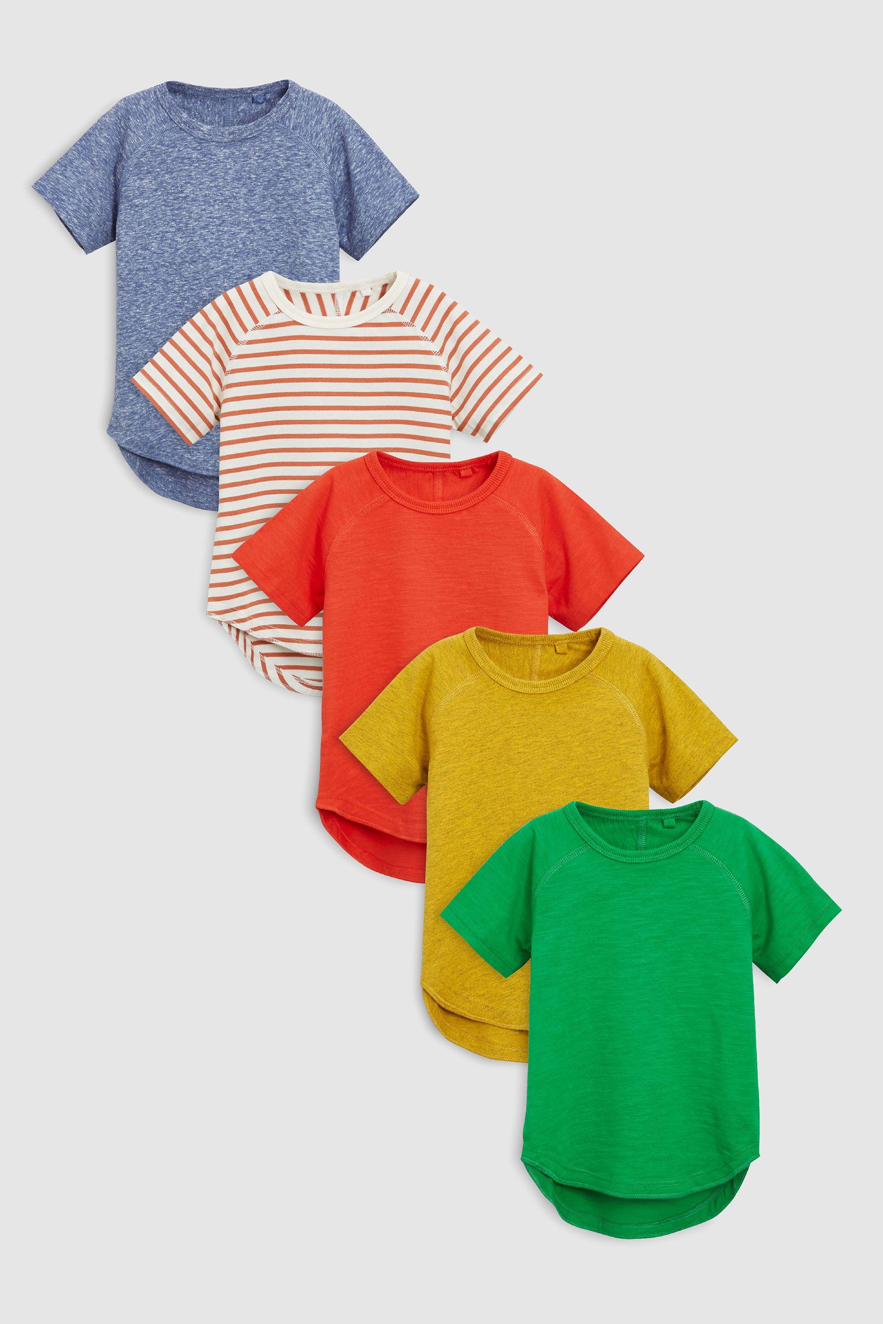 Multi T-Shirt Five Pack $25.00