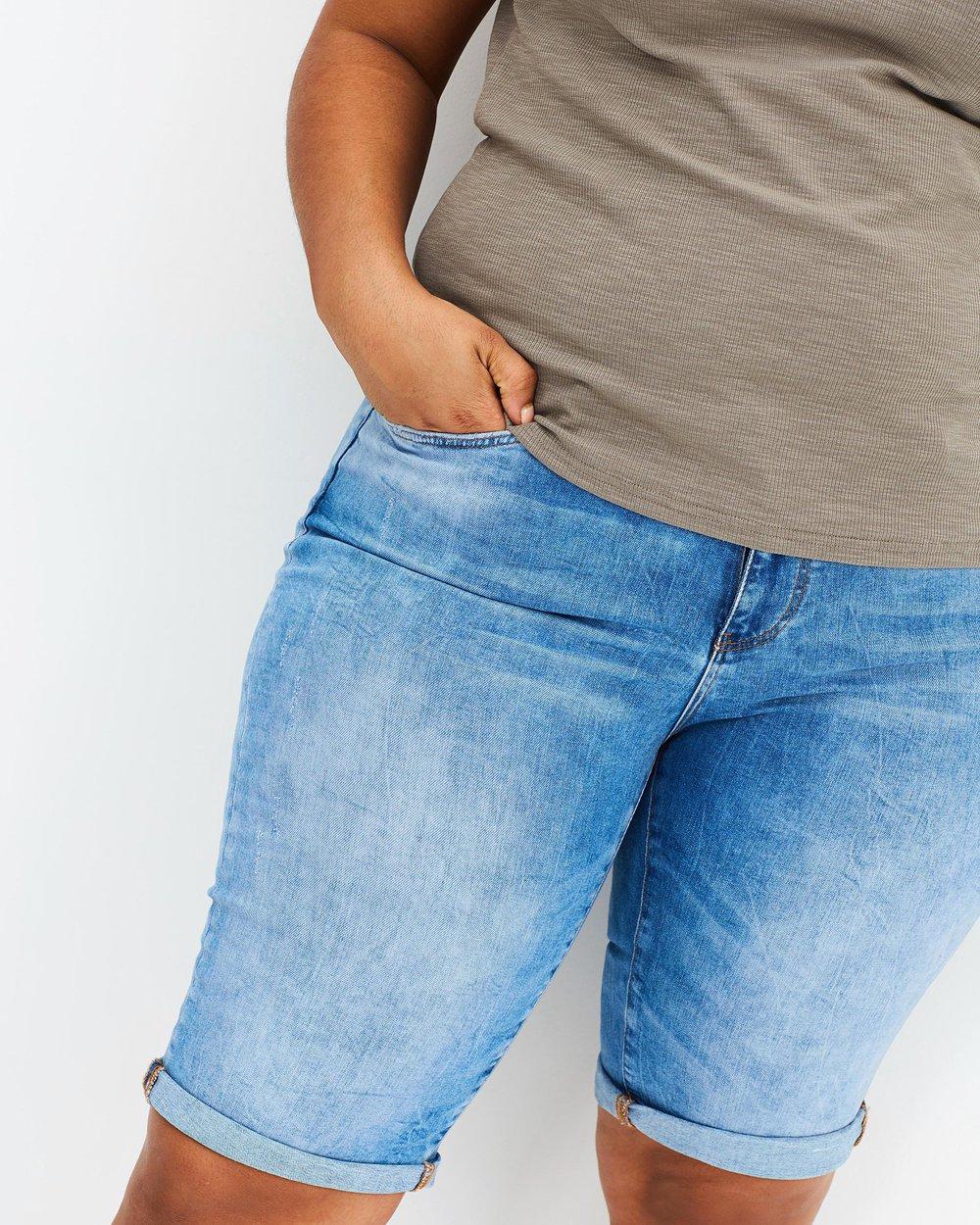Five NW Slim Long Shorts
