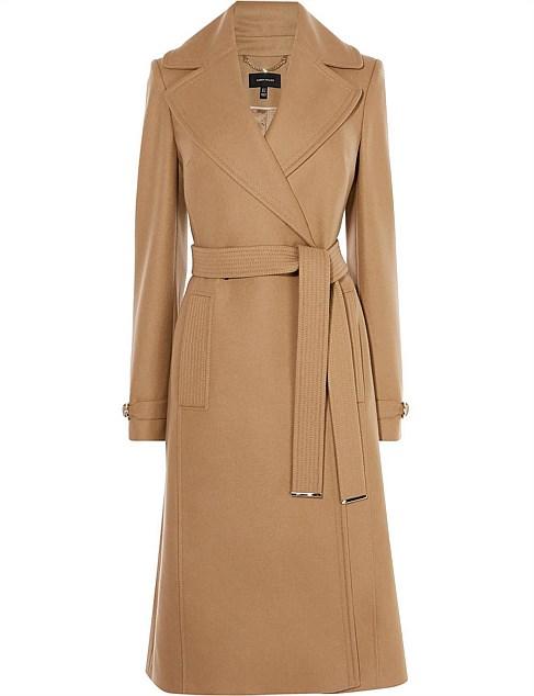 Belted Trench Coat by Karen Millen