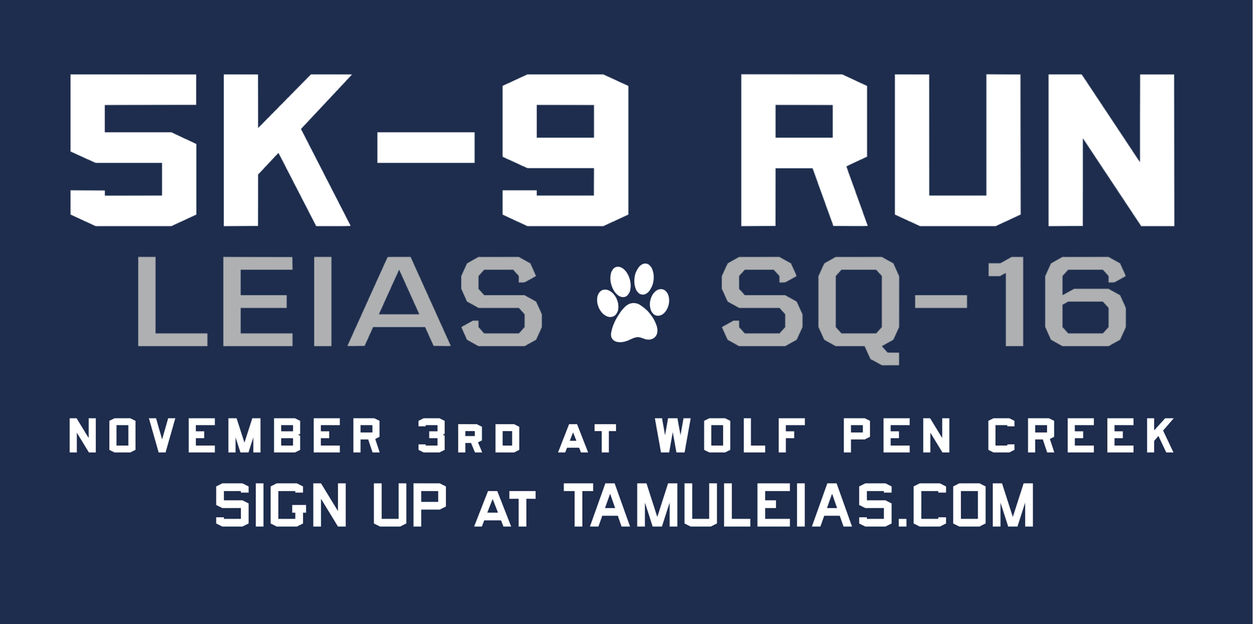 LEIAS 5K-9 - Presented with SQ-16