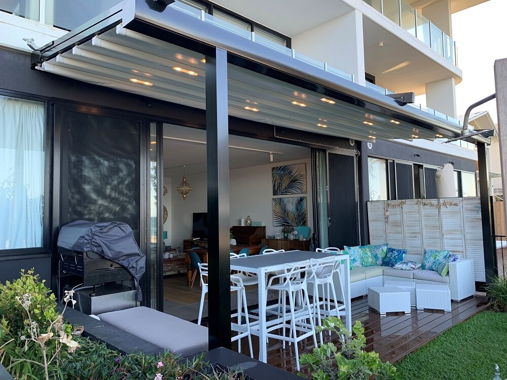 North Gold Coast Retractable Roof — Awning Worx