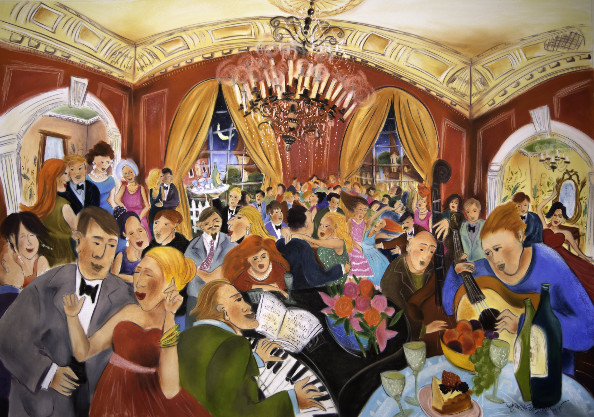 """Panteleon Social Club, large scale limited edition prints, from 60"""" X 42"""" to 24"""" X 17"""", SOLD OUT"""