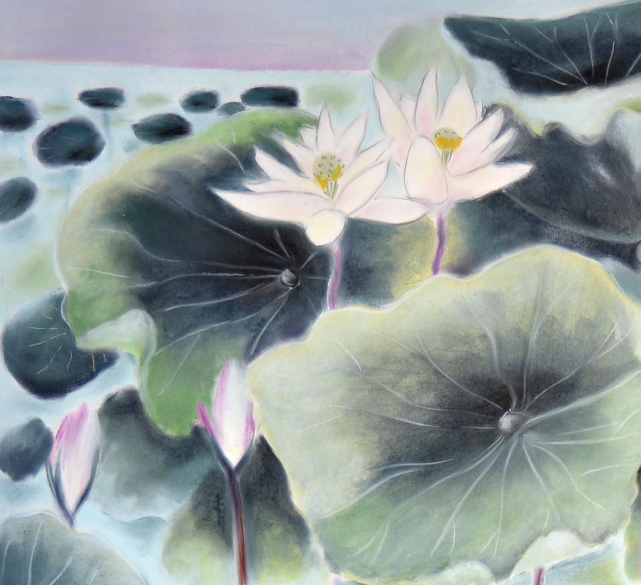 Lotus pond diver-detail#2.jpg