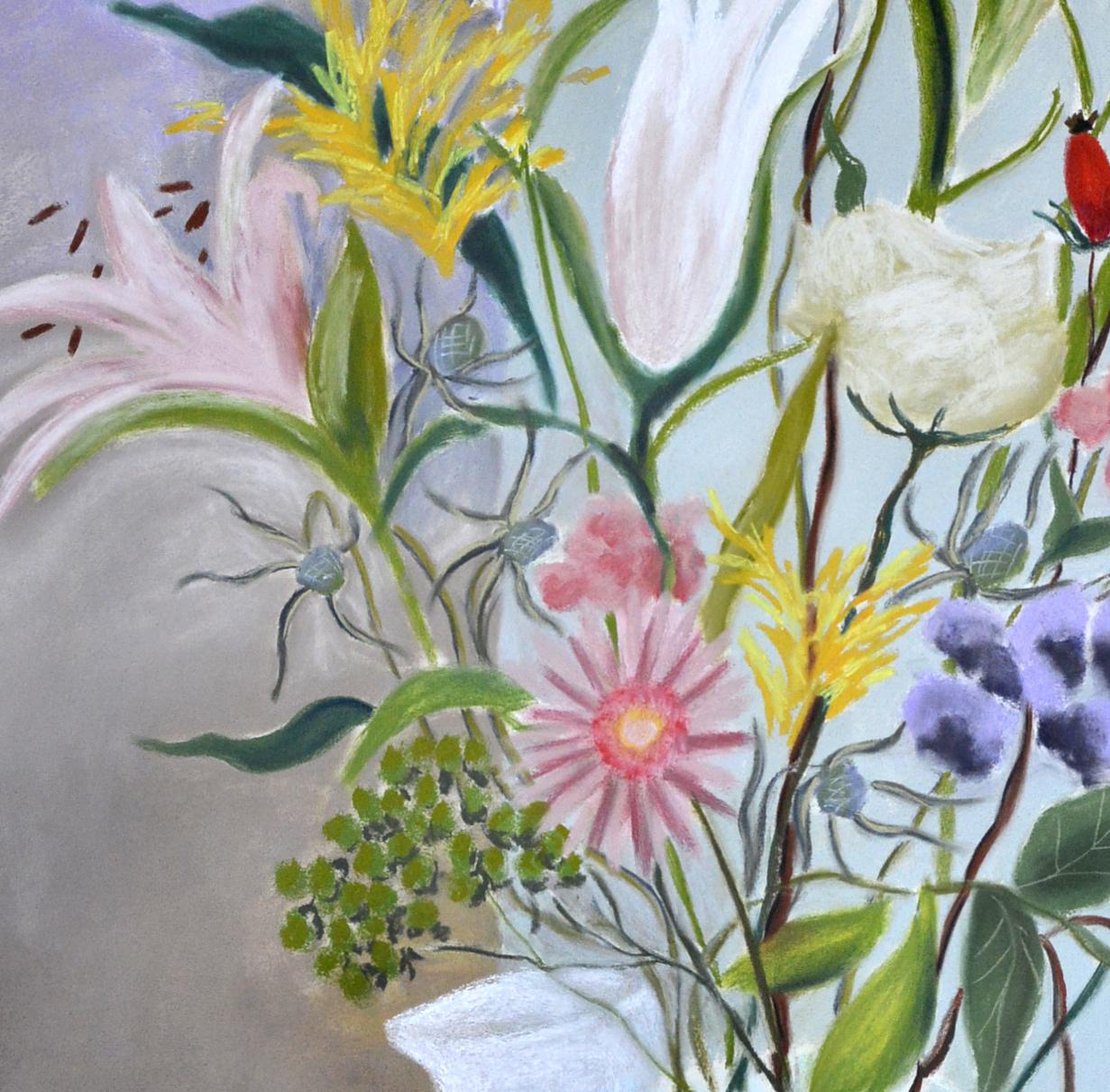 Lillies and Blackberries-detail-2.jpg