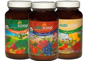 Nutriscoop, supplement series, package illustration