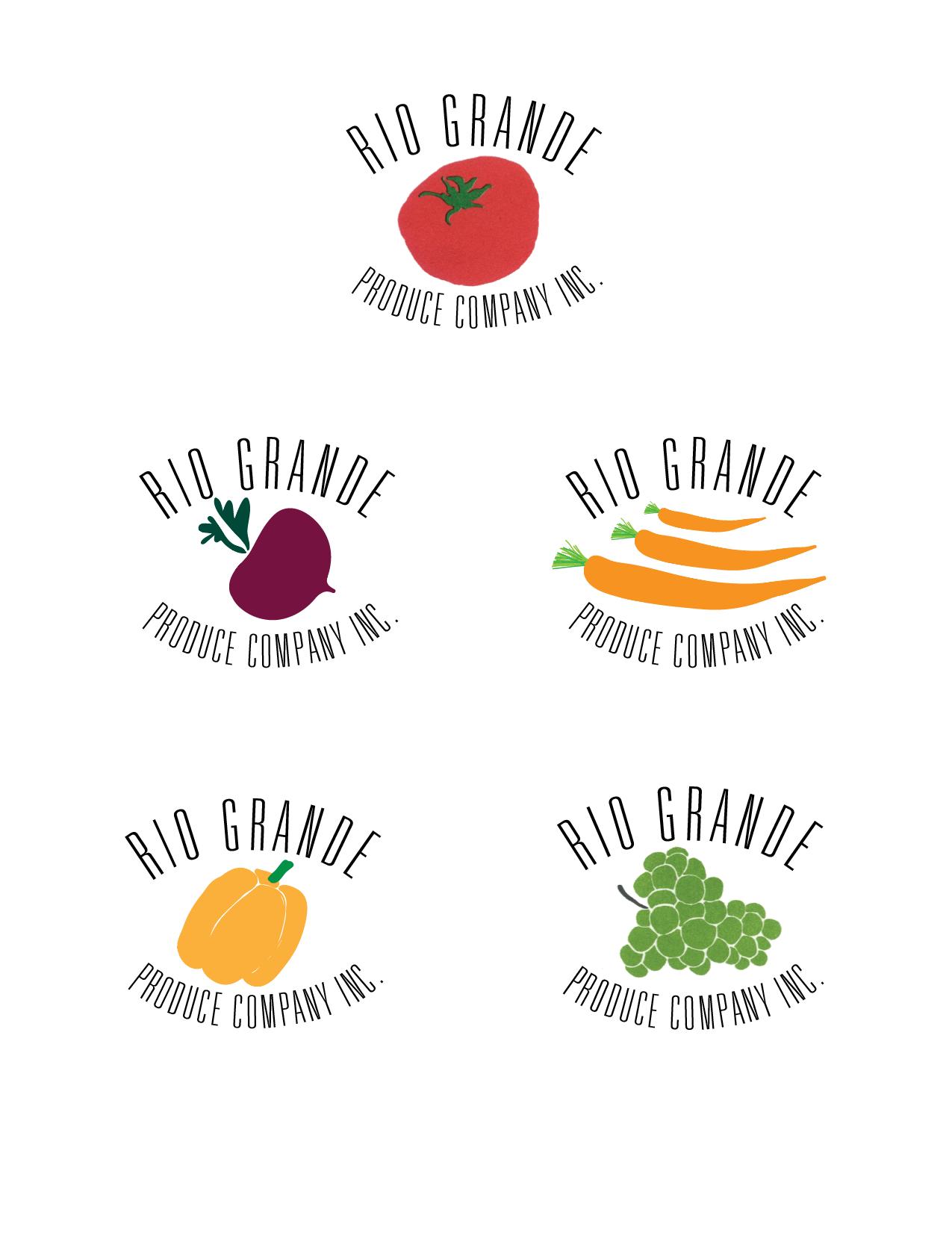 Rio Grande Produce Co. identity