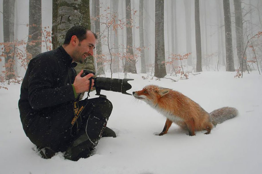 According to my study, this photographer is probably more emotionally engaged than he is cognitively engaged. Image from    Dan Dinu    via    BoredPanda   .