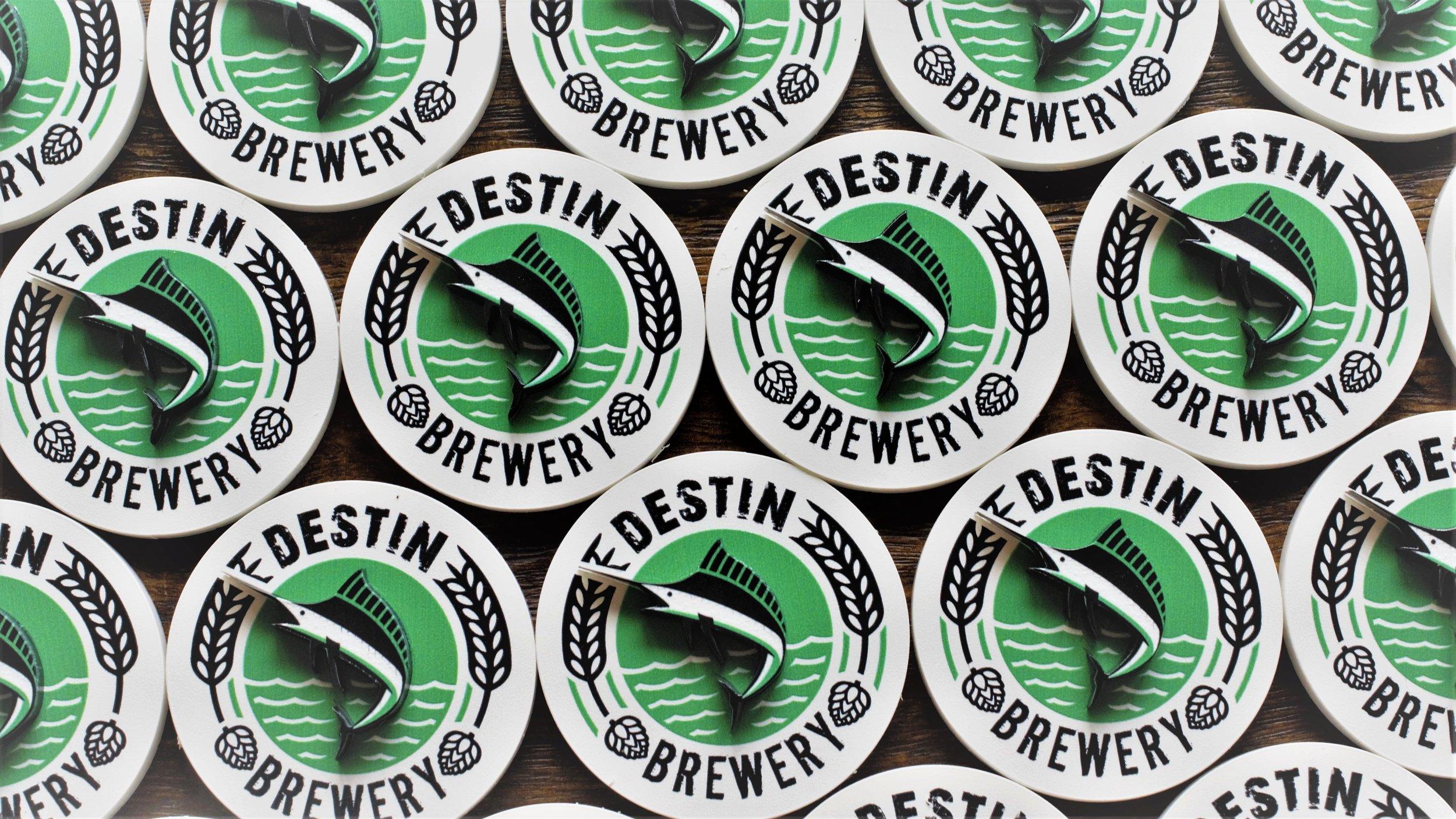 Destin Brewery Faceplates
