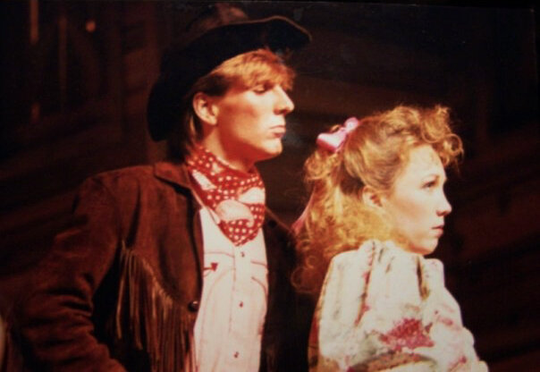 Craig Howard and Erin Parker Meashey in the 1988 New York City production of Oklahoma!