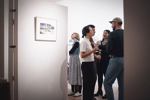 Thank you everyone who joined us for the launch of Still Looking Good by @aliceconnew and @oliver.connew. The exhibition runs until October 12, Mon-Fri 12-6pm, Sat 1-5pm. Swing by, have a coffee, buy some art. Books are available on our website gloria-books.com, for limited edition prints contact Alice via her website aliceconnew.com. . Photos by the @fotoklubkollektiv team.