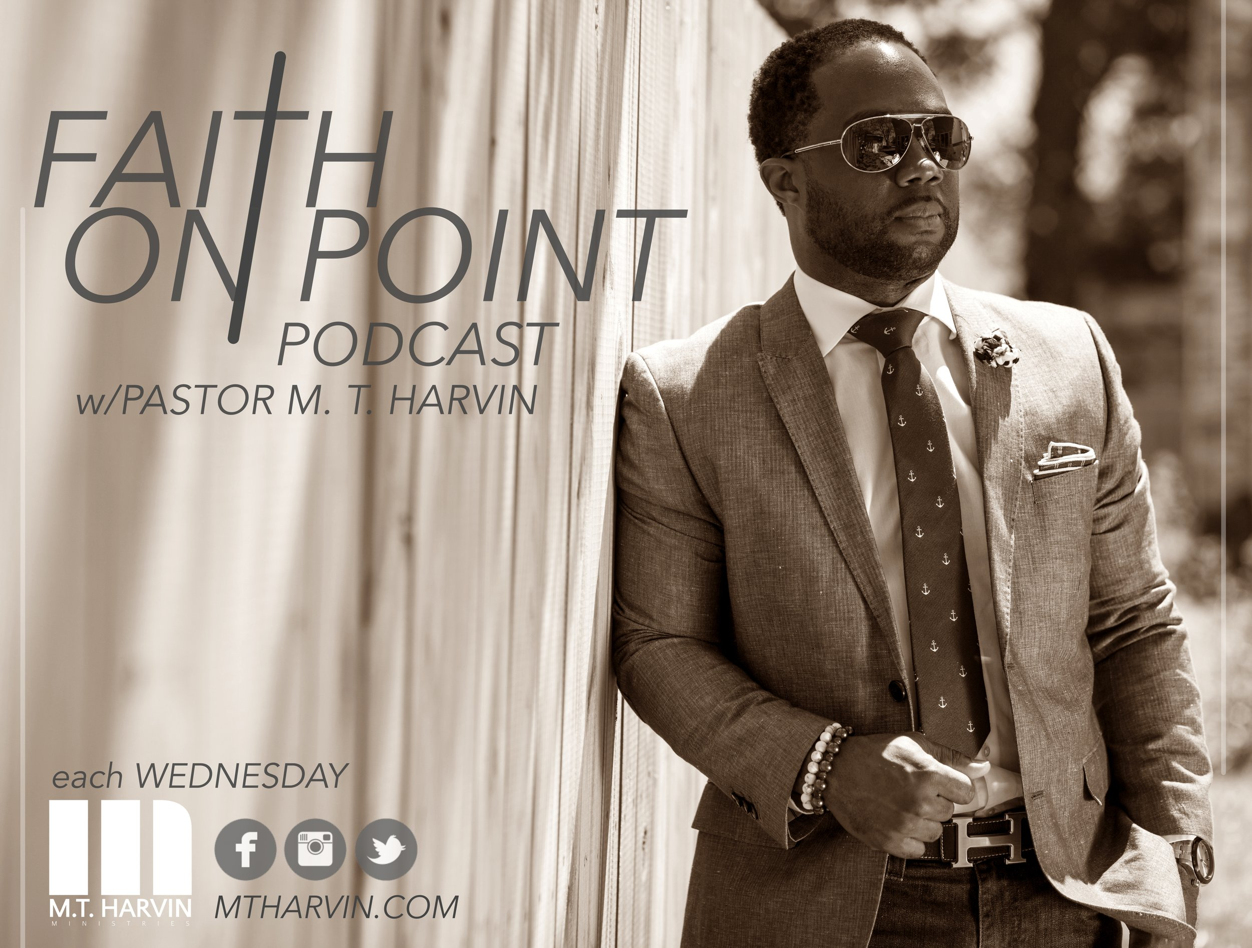Subscribe to my podcast on iTunes: FAITH ON POINT w/Bishop M. T. Harvin  http://isalutesound.com/mhpodcast/feed/podcast