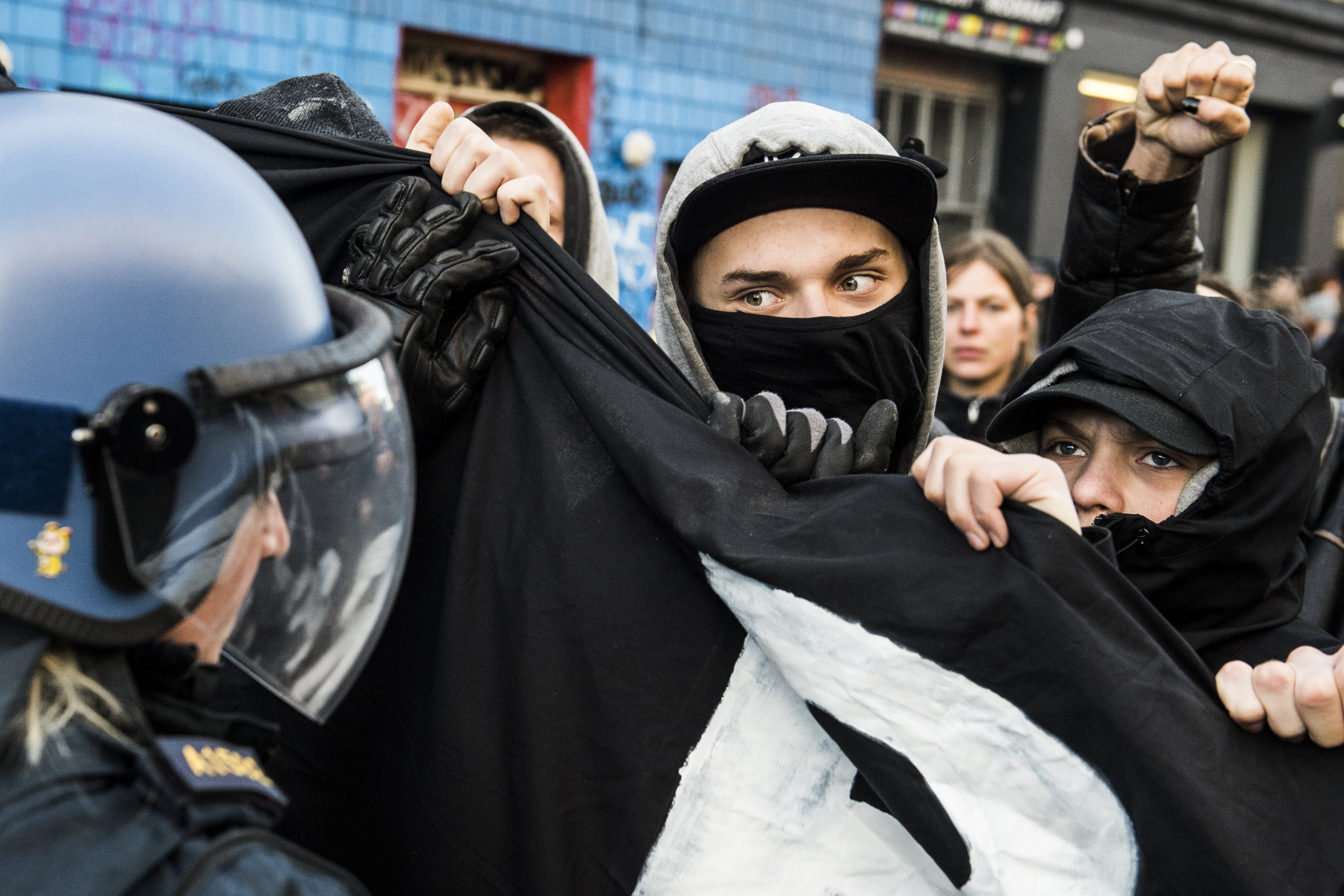 Protests in Copenhagen