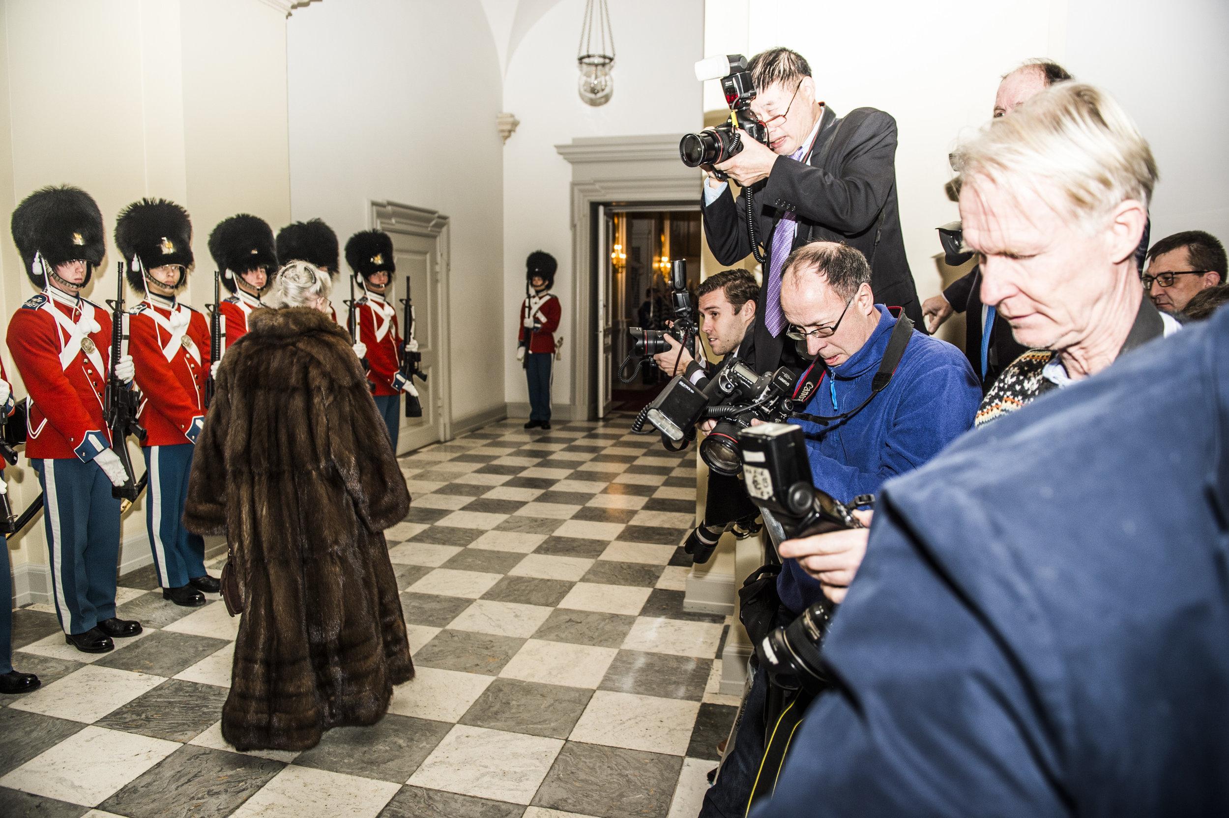 The Queen of Denmark
