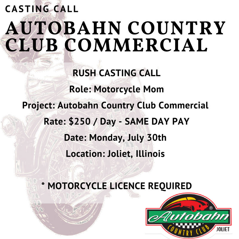 Casting Call For Autobahn Country Club Commercial ver3.png