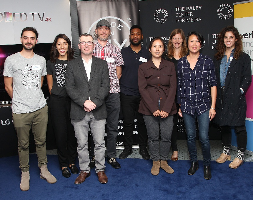 From Stem to Screen - My teammate Virginia and I represented our emerging tech at student incubator CODE Next, as well as From Stem to Screen, held at The Paley Center For Media, (In partnership with The Mayor's Office for Media and Entertainment NYC.)