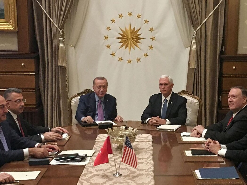 U.S., Turkey agree on ceasefire to allow Kurdish withdrawal from northern Syrian strip - My comments appeared in The Globe and Mail on the ceasefire agreement between the United States and Turkey following the Turkish offensive in Syria against the YPG forces.(October 2019)Read more here.