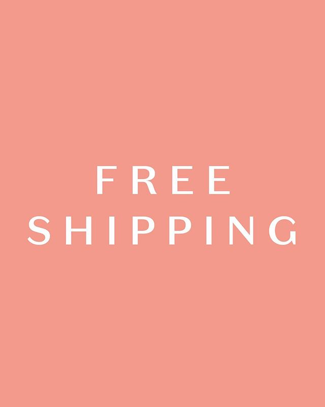 Ready, Set, Go! Free Shipping on all orders for 1 week only! No code needed. Applies to all NZ orders, standard AUS orders, and tracked and express AUS orders over $200 😘 You're welcome xx