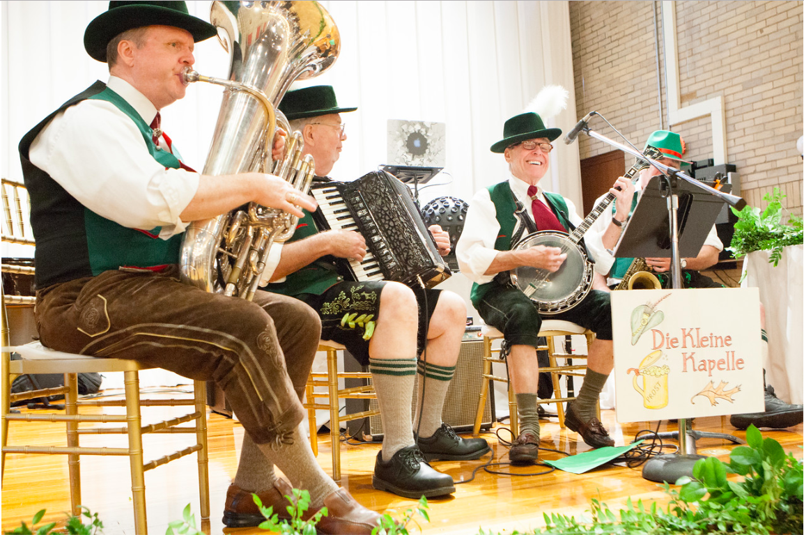 DC Wedding // Edelweiss oom-pah band courtesy of Bialek's Music
