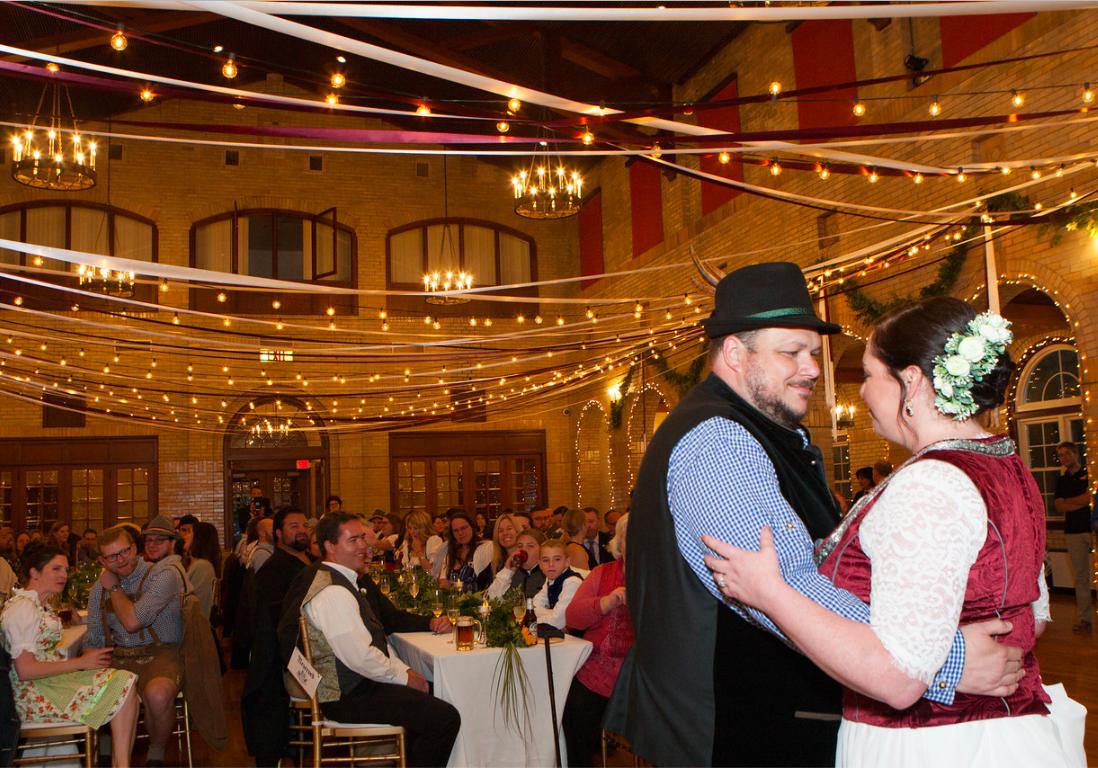DC Wedding // First dance St. Francis Hall