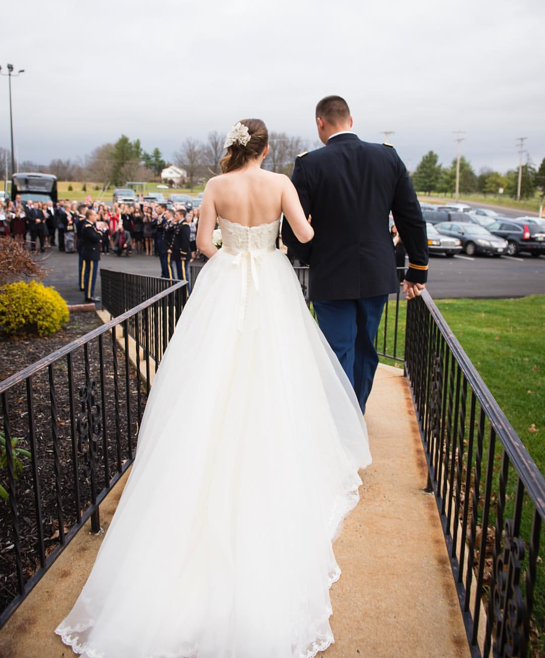 Grand exit //The Miner Details weddings