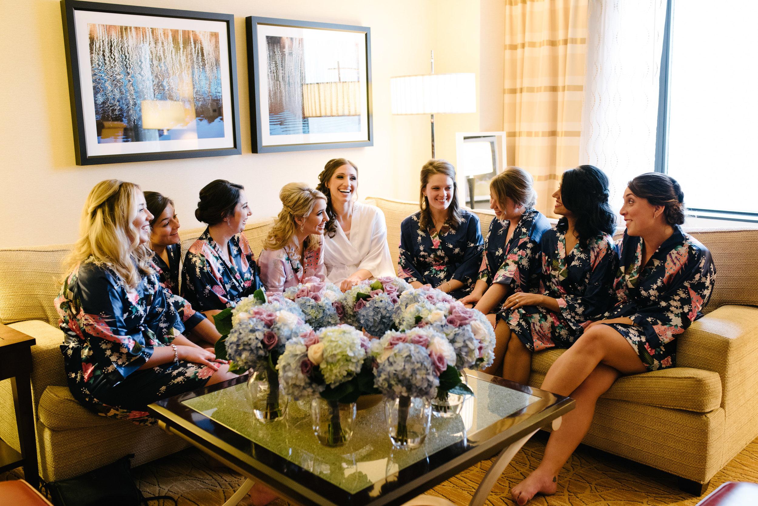 Bridesmaid glam // The Miner Details weddings