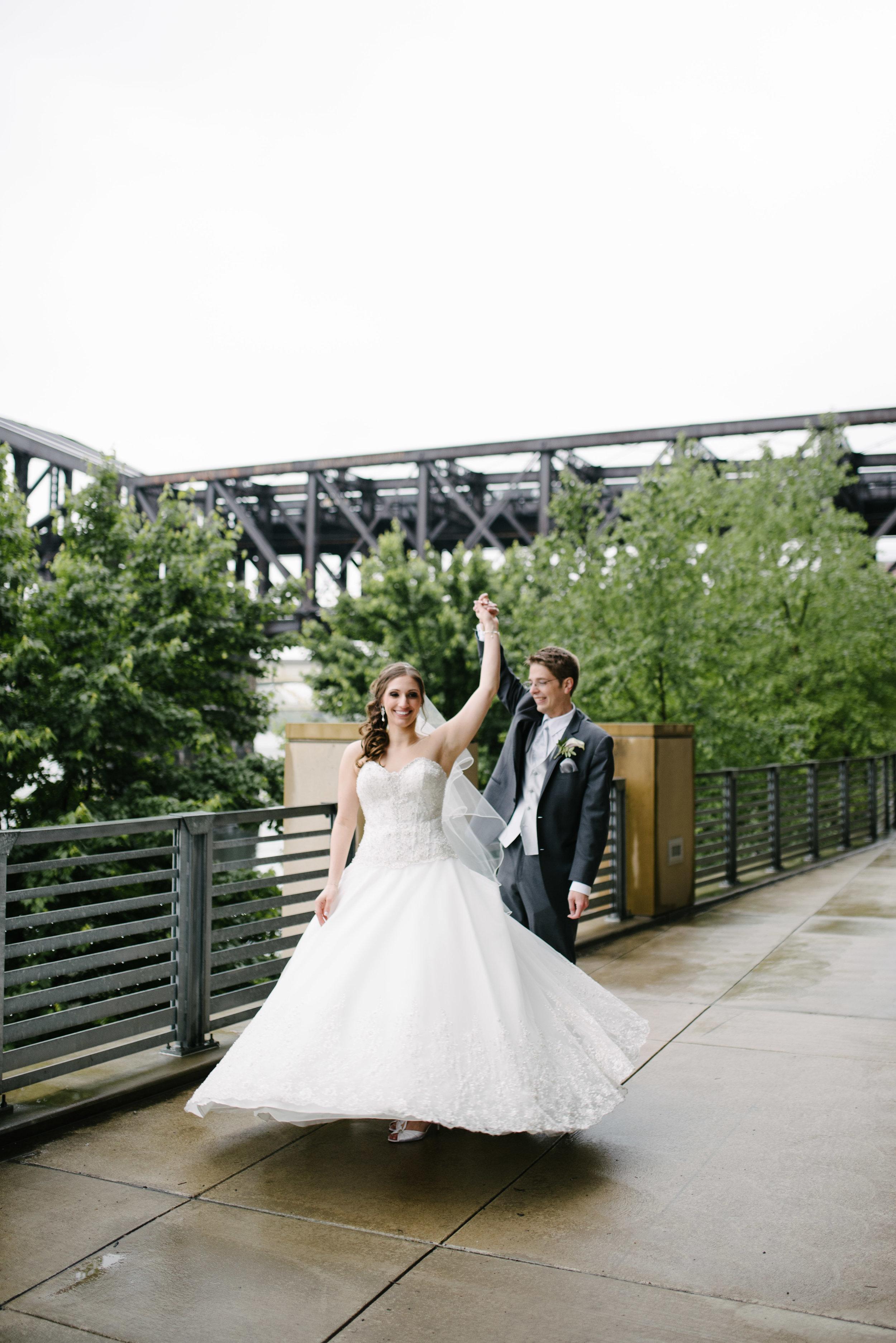Wedding portraits Pittsburgh // The Miner Details weddings