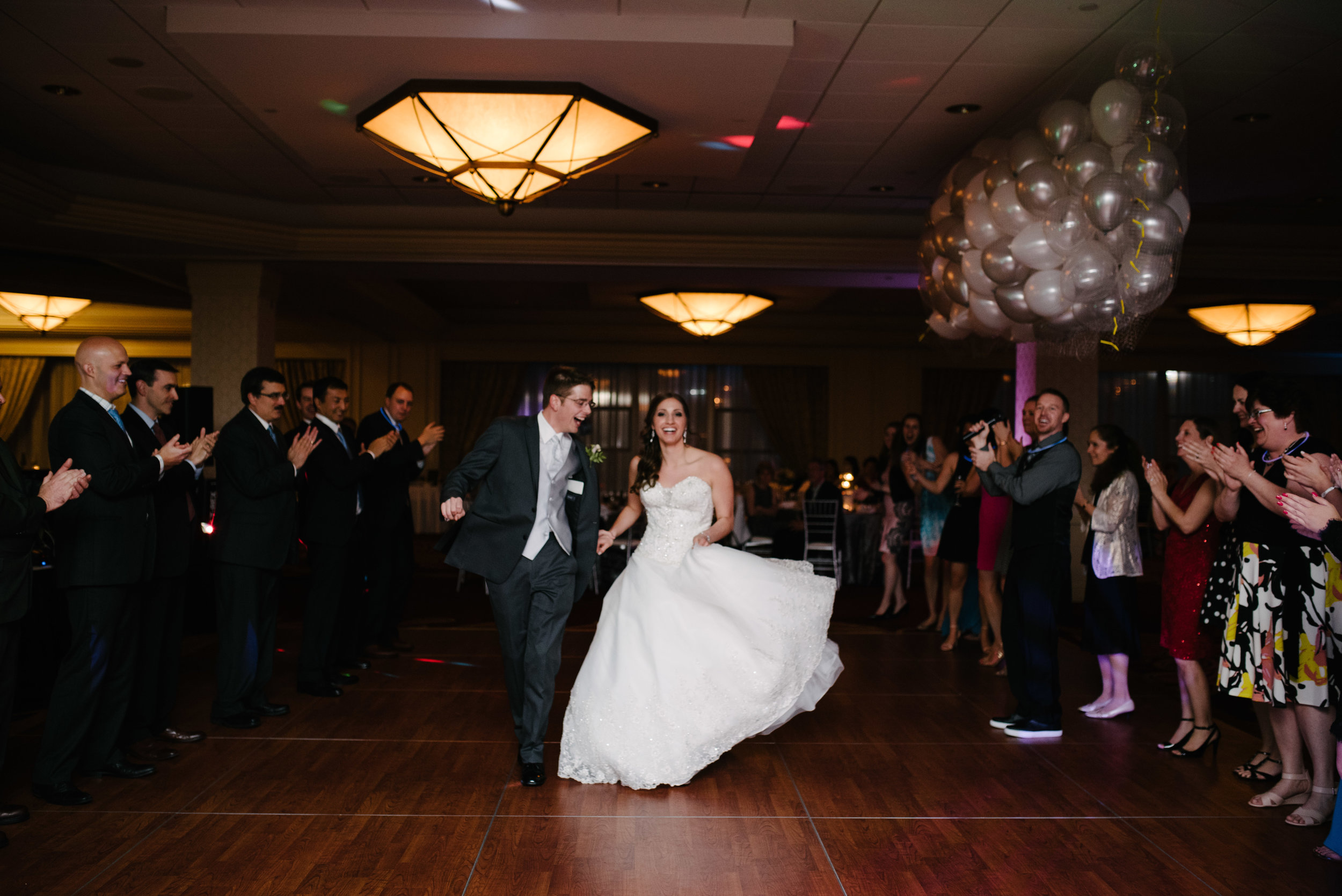 First dance ballroom reception // The Miner Details weddings