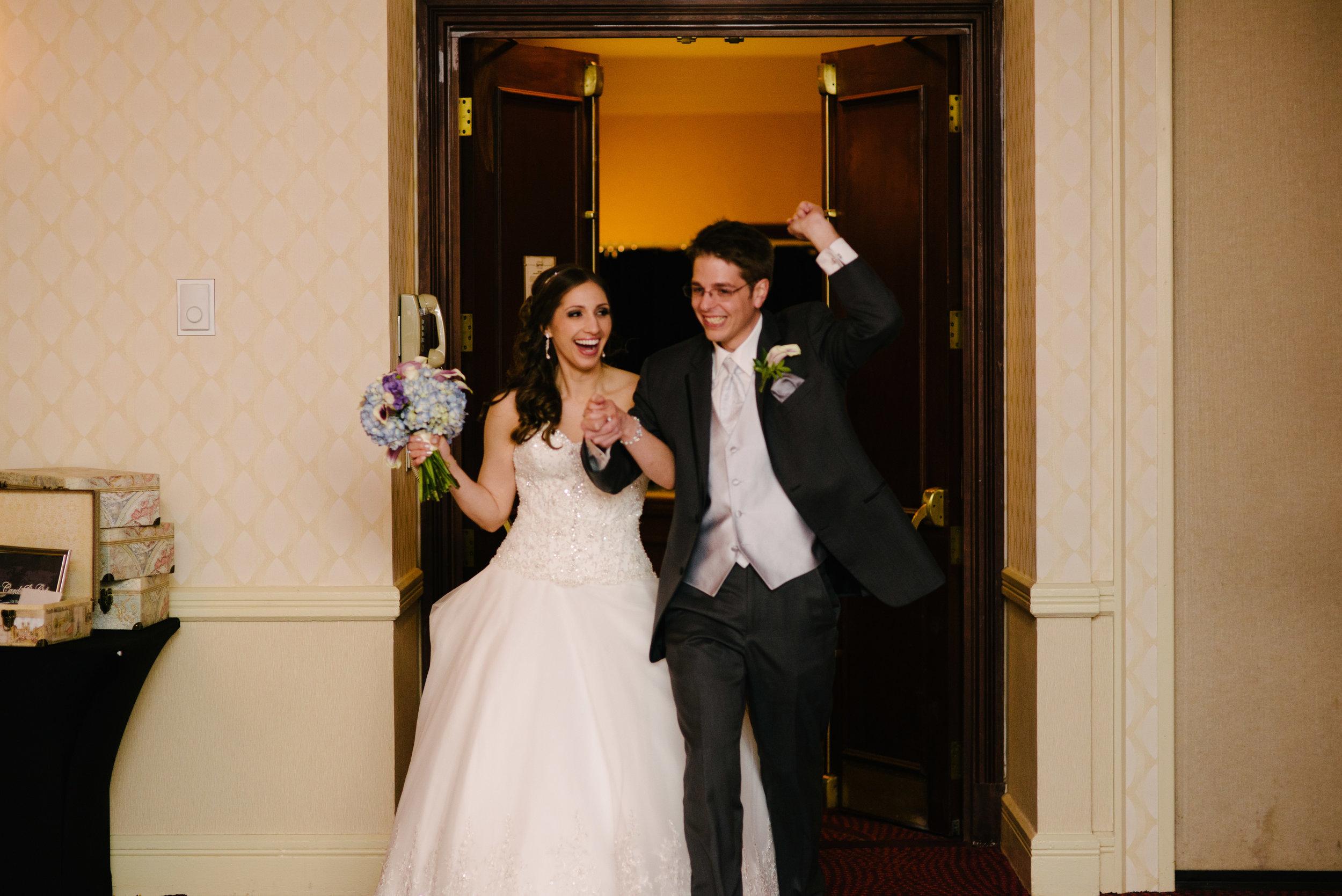 Grand entrance ballroom reception // The Miner Details weddings