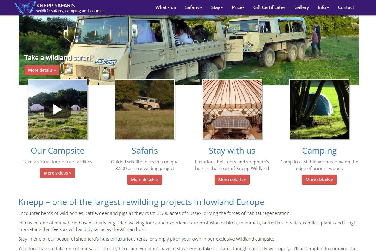 KNEPP SAFARIS       Wildlife Safaris, Camping and Courses