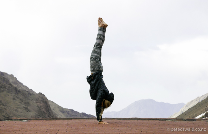 mandatory nature yoga shot?