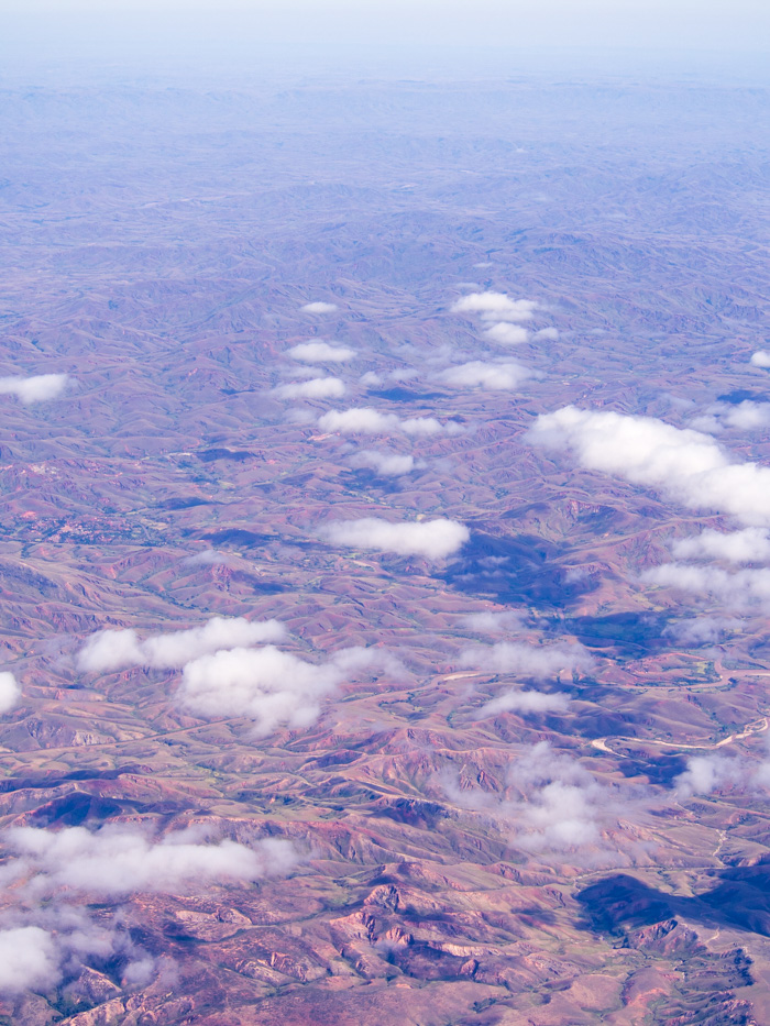 Endless deforestation as far we could see. This all used to be thick forrest. This was our view from our internal flight from Antsiranana (Diago Sauraz) to Antananarivo.
